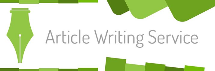Article Writing Service